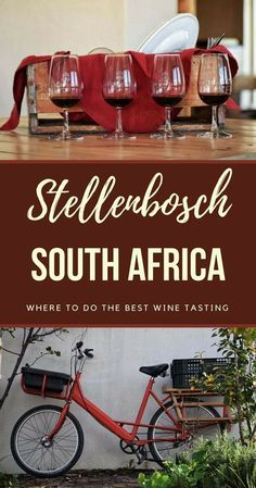 Discover where you can have the best wine tasting tours in Stellenbosch ! Stellenbosch, South Africa #africa #southafrica #travel via @clautavani