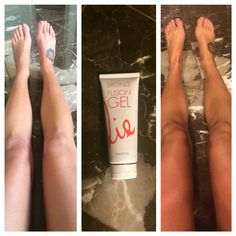 Don't have time to swing in & get an airbrush tan? That's ok, I have a great line of after care/at home tanning products! Picture on left was taken at 5:30pm picture on right was taken at 9pm! Gel Fusion is a clear self tanner with little micro beads that burst with instant color. The gel dries instantly and develops overtime. Swing on in to @beaumondespa on Cole and pick yours up! #touchofsunllc #beaumondespacole #Sjolie #sjoliesunless #instatan #organicairbrushtanning #healthyglow…