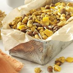 Curried Tropical Nut Mix Recipe -This nutty concoction is an easy, make-at-home food gift. It will spice up the snack table at any party. Good luck keeping the bowl filled.—Mary Ann Dell, Phoenixville, Pennsylvania