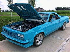 1980 el camino business in the front party in the back west classic old school classics. Black Bedroom Furniture Sets. Home Design Ideas