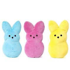 Peeps Bunny Small Dog Toy -- FunStuffForDogs.com Online Store - LOVE these Peeps toys.  Only $1.25 each!!