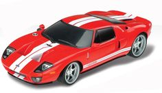 New 1/18 Scale FORD GT RED REMOTE CONTROL CAR RC CARS Ready to Go Free Shipping #XQTOYS
