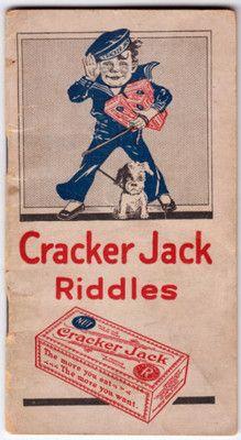 1920 CRACKER JACK RIDDLES Vintage Candy, Vintage Box, Vintage Ephemera, Ward Christmas Party, Bubble Gum Machine, Vintage Words, Penny Candy, Cracker Jacks, Tiny Treasures