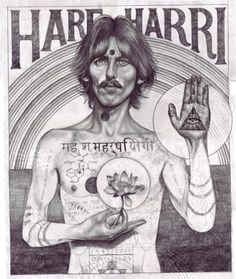 George Harrison / John Paul Thurlow / Art / Hare Krishna / Spirit / Meditation / Life