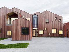 Дания. Denmark designs. Fremtidens Brnehjem, Kerteminde, 2014 - CEBRA architecture