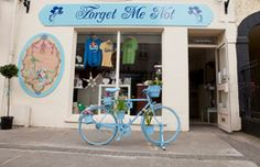 In Clonmel, in Tipperary, one of our earliest stockists was Forget Me Not. The shop has a pretty yet contemporary style.