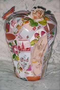 Pink Vista Vase by Norma Ryan