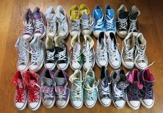 New blog post!: My Converse collection- http://lucylovesya.com/?p=4553