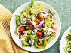 Get this all-star, easy-to-follow Greek Salad recipe from Food Network Kitchen
