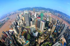 With well-known as the largest industrial and economic center in southwestern China, Chongqing City is a popular destination for people who want to have different experience with its landscape, night scenery and spicy food. Seattle Skyline, New York Skyline, Chongqing China, Night Scenery, China Image, San Francisco Skyline, Adventure Travel, Hong Kong, Past
