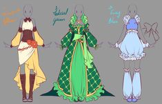 Outfits adopts 3 - Paypal Auction CLOSED by rika-dono.deviantart.com on @DeviantArt
