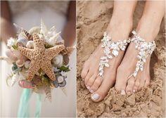 Com o verão chegando, casamentos na praia são os mais procurados.  Detalhes com a decoração do oceano tem tudo a ver com a festa... www.facebook.com/confrariadeeventos
