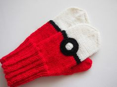Mittens Pattern, Knit Mittens, Mitten Gloves, Knitting Socks, Knitted Hats, Knitting For Kids, Knitting Projects, Pokemon, Diy Costumes