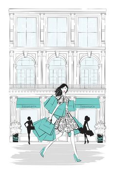 Tiffany Shop New York Canvas Art Print by Martina Pavlova Tiffany Art, Tiffany Shop, Tiffany And Co, Tiffany Blue, Tiffany Jewelry, New York Canvas, My Canvas, Canvas Art Prints, Canvas Artwork
