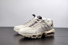 the latest 0e302 95f9f Fashion Nike Air Max 95 Pull Tabs Running White Red Aj1844 101 Shoe