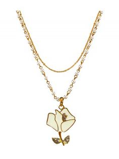 jewel box forward shakespearean rose necklace shakespearean rose ...
