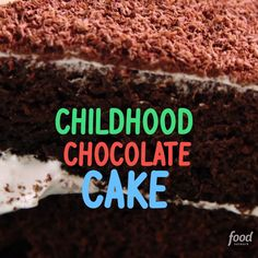 Alex shares a chocolate cake recipe that was her childhood favorite. This decadent dessert might just become your favorite, too!