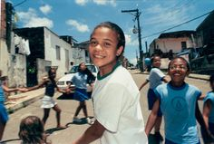 Joice Carine Santana Da Silva, 15 years old is one of Pastoral da Criança's youth leaders  Pastoral da Crianca's 155,000 volunteers received The World's Children's Honorary Award 2003 for their unpaid but successful work to reduce mortality and under-nourishment among Brazil's children