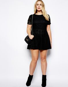 Truly You - Lace Playsuit