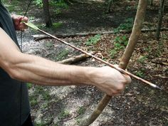 Survival Skills: Make a Quick Stick Bow ~Outdoor Life Survival Tools, Wilderness Survival, Camping Survival, Outdoor Survival, Survival Prepping, Emergency Preparedness, Survival Equipment, Camping Foods, Camping List