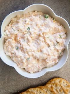 Shrimp Dip Easy shrimp dip with small pink shrimp lemon zest and lemon juice scallions parsley hot sauce pepper cream cheese and a little mayo Seafood Dip, Shrimp Dip, Seafood Appetizers, Appetizer Dips, Seafood Recipes, Appetizer Recipes, Cooking Recipes, Cheese Appetizers, Cajun Recipes