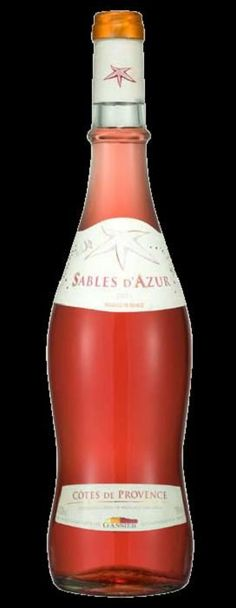 It's pink, it's dry, it's best really, really cold and it's from Provence. The best wine for a hot summer day is Provencal Rose. And that bottle while not the only shape you'll see, is the traditional shape of the Provence region roses. Superb.