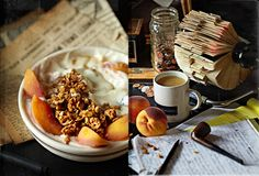 Dad's Breakfast Granola by Vanessa Rees, via Behance