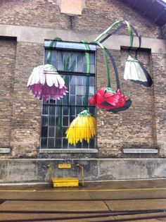 Wonderful wall painting at the urban art festival, winterthur.