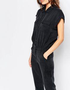 Sisley Jumpsuit in Black