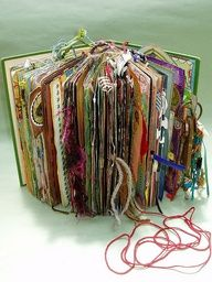 beautiful altered book - wowowow - follow link to see the whole thing -- love this. kinda started one a while ago but no where NEAR this in depth or cool.