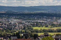 Fotograf Kassel   Niestetal - Sandershausen, Kassel - Bettenhausen, im Vordergrund Kassel - Wolfsanger http://blog.ks-fotografie.net/documenta-stadt-kassel/panorama-kassel/