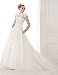 Pronovias presents the wedding dress Kaethe. Atelier 2015.   Pronovias