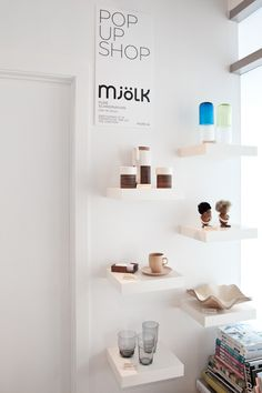 "pop up shop | interior shop | ""mjölk"" 