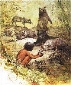 .The Jungle Book by Rudyard Kipling, illustrated by Robert Ingpen