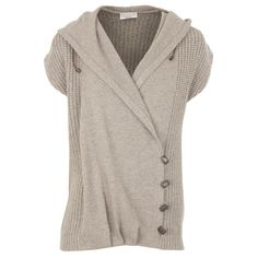 Hirshleifers - Brunello Cucinelli - Asymmetrical Four Button Knit Pullover (Mushroom), (http://www.hirshleifers.com/ready-to-wear/tops/brunello-cucinelli-asymmetrical-four-button-knit-pullover-mushroom/)