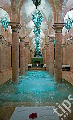 Morocco, Marrakech, hotel Riad spa ~Pools of Desire~