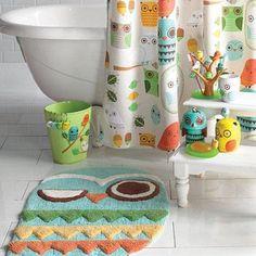 Sears 'Give a Hoot' Bathroom Coordinates This would be great. Nothing matches in my bathroom! Canada Shopping, Online Furniture, Owls, Mattress, Household, Bathroom, College, Decor Ideas, Home Decor