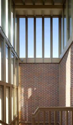 Niall McLaughlin, Student Housing, Somerville CollegeExternal, Internal shot of stair tower