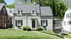 Before   Architect Ross Piper brings back the symmetry and authentic Cape Cod style of an Atlanta home.