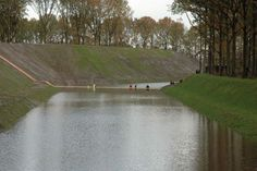Fort de Roovere Trench Bridge by Ro&Ad Architects