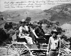 (ca. 1880s)^ - First stage and mail service operated in 1880s between Santa Monica and Topanga Canyon.