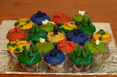 Settlers of Catan cupcakes | evilmoose