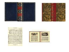 Instructions for a small bookcase (not beginner project) plus these lovely music-themed books (printies) Source: Victorian Cat's Dreams