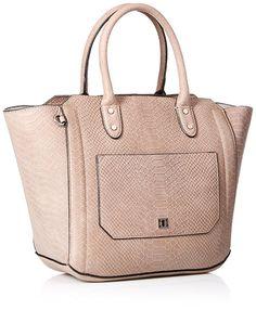 Ivanka Trump Tribeca Solutions Satchel, Pale Taupe: Handbags: Amazon.com
