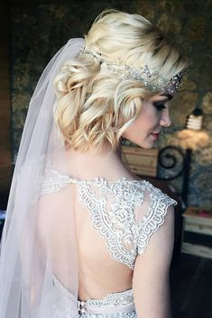 Short Wedding Hairstyle Ideas So Good Youd Want To Cut Your Hair ❤ See more: http://www.weddingforward.com/wedding-hairstyle-ideas-for-short-hair/ #weddingforward #bride #bridal #wedding