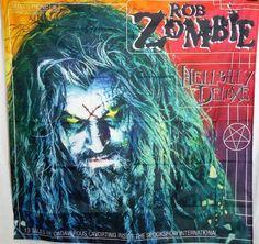 ROB ZOMBIE Hellbilly Deluxe HUGE 4X4 banner poster tapestry cd album | eBay