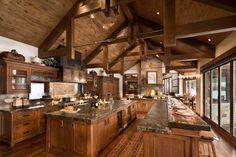 Rustic KitchensLuxury Home