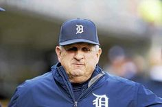 Detroit Tigers bench coach Gene Lamont is seen in the dugout during the first inning of a baseball game against the Oakland Athletics, Wednesday, April 27, 2016, in Detroit. (AP Photo/Carlos Osorio)