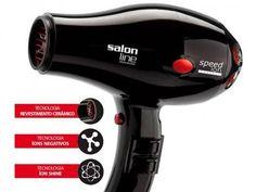 Secador de Cabelo 2100W 6 Velocidades Salon Line - Compact Speed Íon com as melhores condições você encontra no Magazine Sualojaverde. Confira!