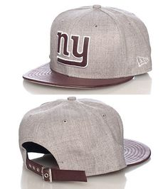 NEW ERA New York Giants football strapback cap Embroidered team logo Adjustable strap on back NEW ERA stitching on sides Polyurethane brim JJ EXCLUSIVE